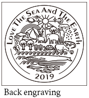 LOVE THE SEA AND EARTH 2019 back engraving